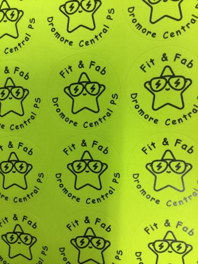 Fit and Fab Day 2018 Year 3 We loved our stickers!