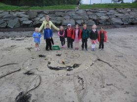 Our trip to the seaside at Crawfordsburn