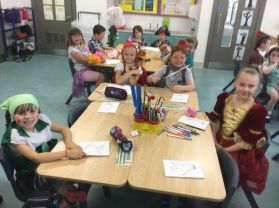 Year 3 Mrs Adams class - Fairytale Friday