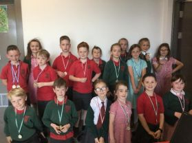 Year 4 Sports Medal Winners