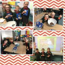 Making chocolate apples with Mrs Thompson's Year 3 Class 🍎🍫😁