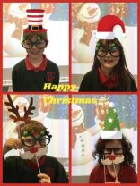 Happy Christmas from Mrs Barr's and Miss McKeown's class