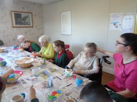 School Council partnership with Mountvale Nursing Home