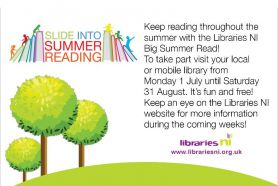 Slide into Reading at Libraries NI